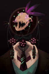 Dream Catcher object head by AndeanCondor21