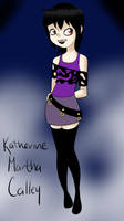 Katherine Martha Calley OC MavisXjonathan by SakiCakes