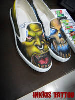 Warcraft DOTA Shoe's by crackroach