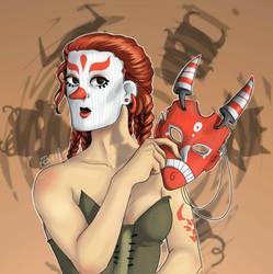 Masqueraider  by ElsieDuBlog