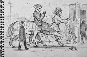 Centaurs in 21th century by Mumium