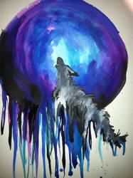 Howling at the Moon by alexyasha
