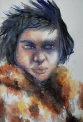 Jon Snow by alexyasha