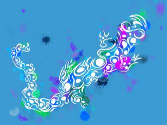 Untitled Salamander by alexyasha