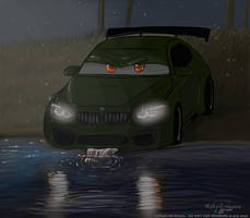 BMW in the wild  by DEpEchE-Ninara