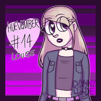 Huevember #14: Louise by DannyWade
