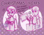 [LAST CHANCE] PAYPAL/POINT CHRISTMAS YCHs 2018 by DannyWade