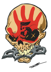 Five Finger Death Punch by kempogirl007