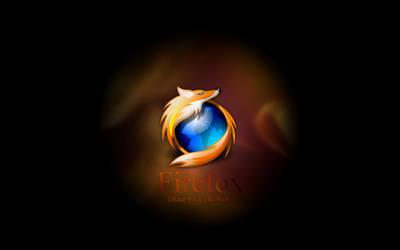 Simple Firefox Wallpaper - WS by strange-familiar