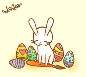 Happy Easter! by Froggyzz