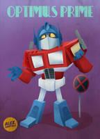 Optimus Prime by alexsantalo