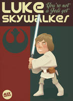 Luke Skywalker by alexsantalo
