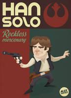 Han Solo by alexsantalo