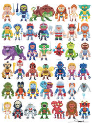 The Masters of the Universe (classic) by alexsantalo