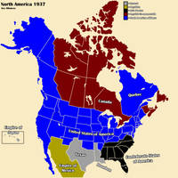 AltHist America Map 1937 2-3 by DaemonofDecay