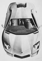 Lamborghini Aventador by DyMHL