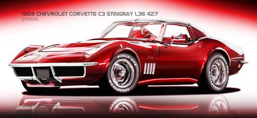 1969 Corvette C3 Stingray by DyMHL