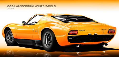 1969 Lamborghini Miura by DyMHL