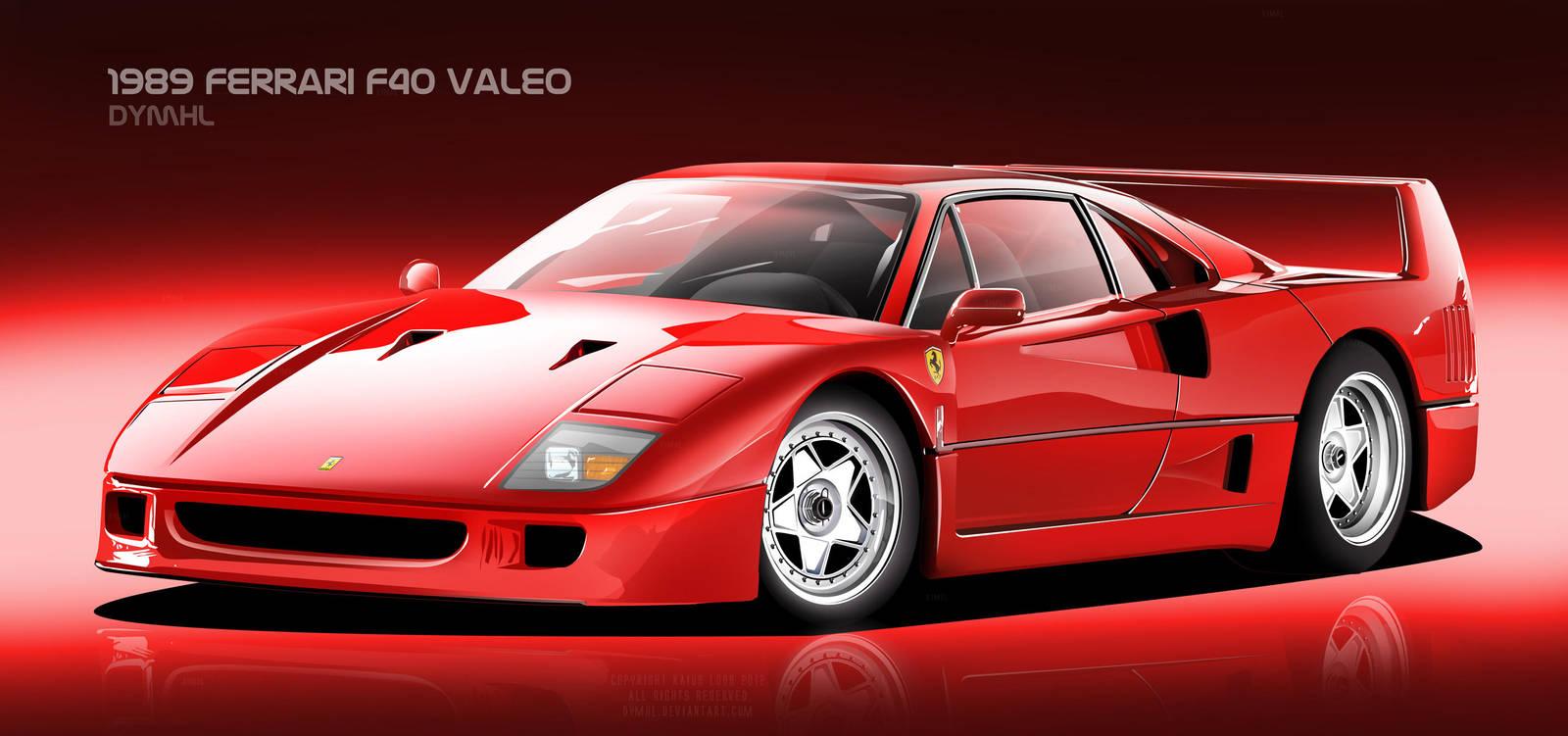 Ferrari F40 Valeo by DyMHL