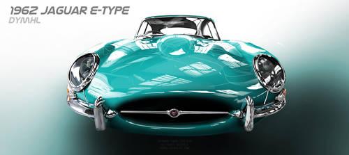 1962 Jaguar E-Type by DyMHL