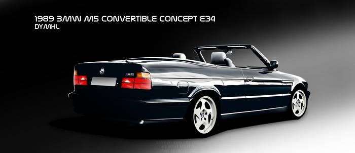 1989 BMW M5 Convertible by DyMHL