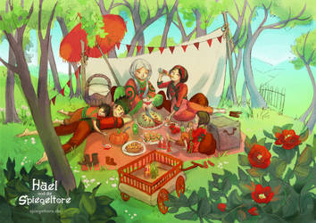 Family Picnic by Livanya