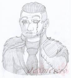 Viktor - [art trade] by Jeamesero