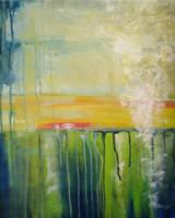water lilies by Ondrejkova