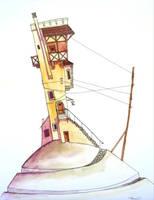 Ivory tower by Ondrejkova