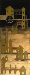 Golden town II. by Ondrejkova