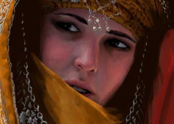 Portrait Study by NikoKripton