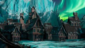 Frozen Lair by NikoKripton