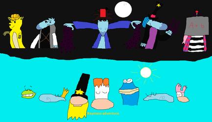 Raymans Adventure by boogeyboy1