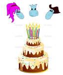 Birthday Gift For Margo, Eevan, and Pozi by boogeyboy1