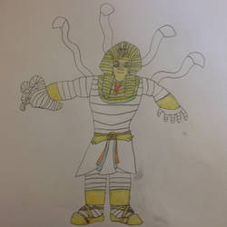 Rayman Chronicles character: King Tooten Hooten by boogeyboy1