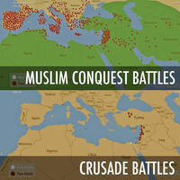 Muslim-conquest-v-Crusade-battles by IreneBelserion69