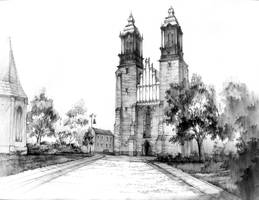 Gothic cathedral in Poznan / Katedra Poznanska by gaciu000