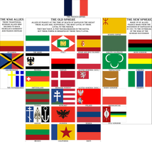 Flags of the Franco-Sphere by Spiritswriter123