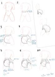How xJio Draws Diapers by xJio