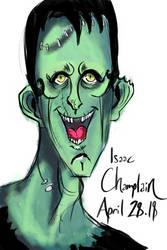 Frankenstein's Monster 3 by IsaacChamplain