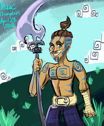 Day 5: Tribesman by IsaacChamplain