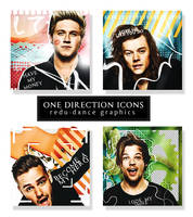 ONE DIRECTION ICONS by AdmireMyStyle