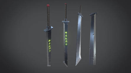 Sword Design for game by aXel-Redfield