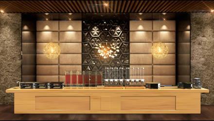 Buffet design by aXel-Redfield