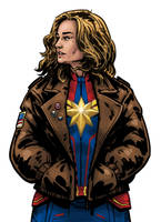 Captain Marvel by Ty-Foley