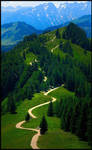 A mountain path by eswendel