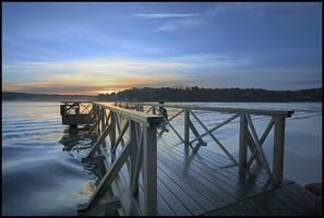 Morning bridge by eswendel