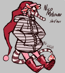 OC - Nico Melusine by wolfolotl