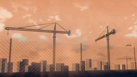 World Under Construction by anasofoz
