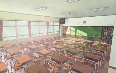 Classroom Dream by anasofoz